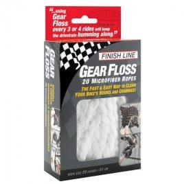 Finish Line Gear Floss nastri in microfibra per catena e cassetta